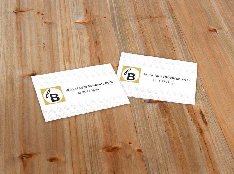 Calico Impression Papier Carte De Visite Gaufre